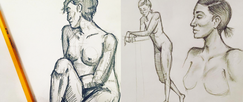 I'm Teaching a Figure Drawing Class!
